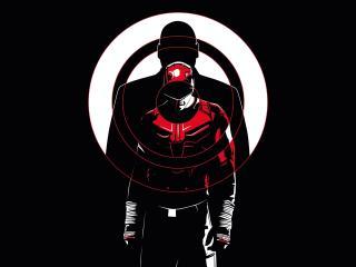 Daredevil vs Kingpin Poster wallpaper