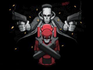 Daredevil x Punisher Marvel Comic wallpaper