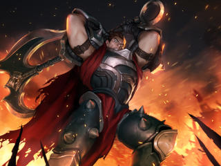 Darius Legends of Runeterra wallpaper