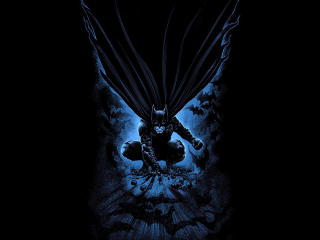 Dark Batman Art wallpaper