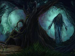 Dark Creepy HD 4k Cool Art wallpaper