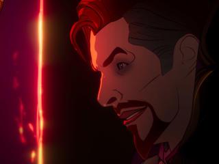 Dark Doctor Strange x Doctor Strange What If wallpaper