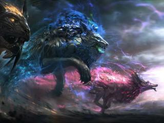 Dark Fantasy Animals wallpaper