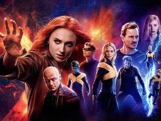 Dark Phoenix 5K wallpaper