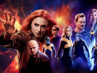 Dark Phoenix 8K wallpaper
