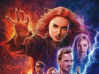 Dark Phoenix X-Men Movie Poster wallpaper