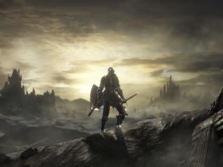 Dark Souls 3 Warrior wallpaper