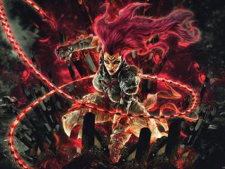 Darksiders 4K Gaming Digital Art wallpaper