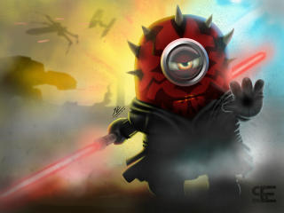 Darth Maul Minion Star Wars wallpaper
