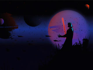 Darth Vader Digital Art wallpaper