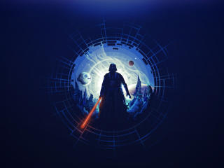 Darth Vader Minimalist wallpaper