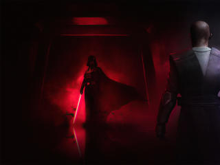 Darth Vader vs Mace Windu Star Wars wallpaper
