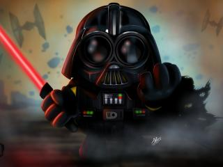Darth Vader x Minion wallpaper