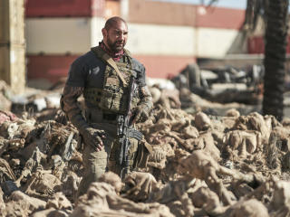 Dave Bautista in the Movie Army of the Dead wallpaper