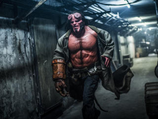 David Harbour in Hellboy Movie 2019 wallpaper