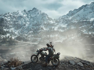 Days Gone Biker wallpaper