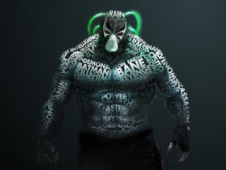 DC Bane Comic wallpaper