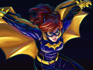 DC Batgirl Digital 2020 Art wallpaper