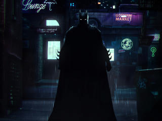 DC Batman Arrives wallpaper