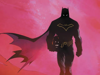DC Comic 4K Batman wallpaper
