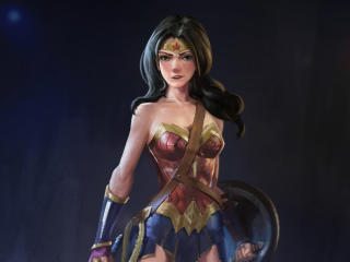 DC Comic Wonder Woman 2020 Drawing wallpaper