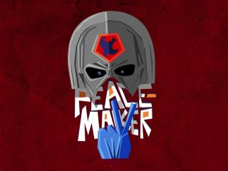 DC Peacemaker Helmet Logo wallpaper