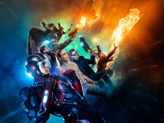 DC's Legends Of Tomorrow Character Poster wallpaper