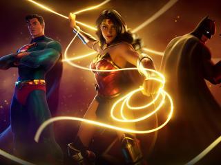 DC Wonder Woman Fortnite wallpaper