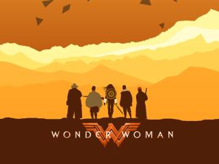 DC Wonder Woman Superhero wallpaper