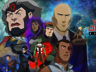 DC Young Justice Poster wallpaper