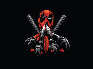 Deadpool Minimal wallpaper