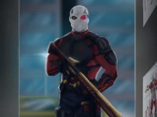 Deadshot Art wallpaper