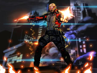 Deadshot DC Comics wallpaper