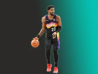 Deandre Ayton Phoenix Suns 2021 wallpaper