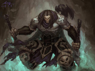 Death In Darksiders 2 wallpaper