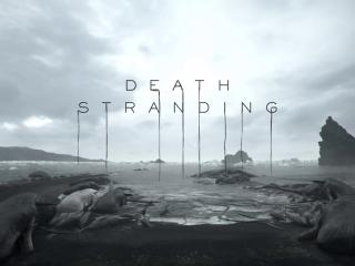 Death Stranding Logo wallpaper