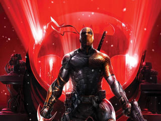 Deathstroke 2020 Art wallpaper