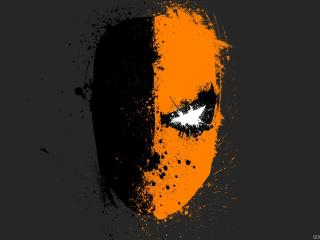 Deathstroke Splash Art wallpaper