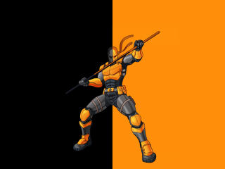 Deathstroke the Terminator wallpaper