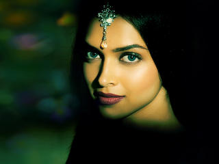 Deepika Padukone Desi Look Portrait wallpaper