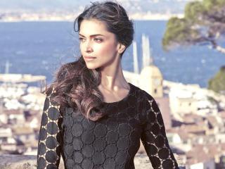 Deepika Padukone In Black HD Images wallpaper
