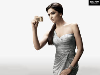 Deepika Padukone With Camera Pic wallpaper