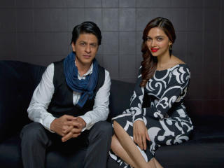 HD Wallpaper | Background Image Deepika Padukone with Shahrukh Khan