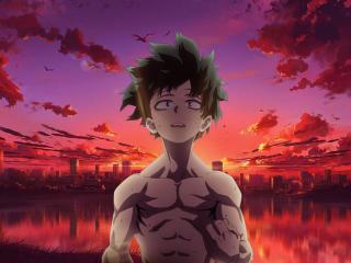 Deku My Hero Academia Art wallpaper