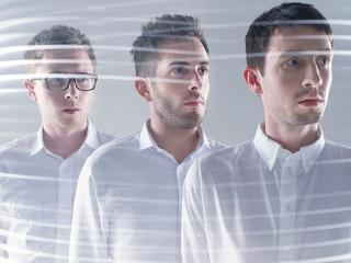 delphic, band, light wallpaper