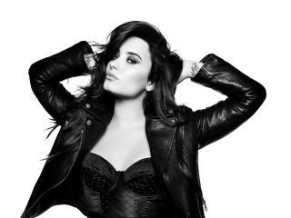 Demi Lovato 2018 Monochrome wallpaper
