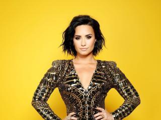 Demi Lovato Portrait 2018 wallpaper