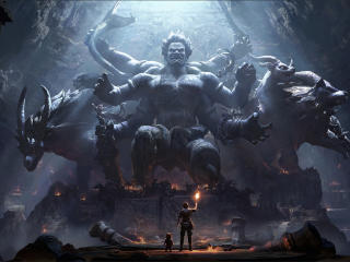 Demon Cave wallpaper