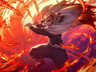 Demon Slayer Kimetsu no Yaiba The Movie Mugen Train wallpaper