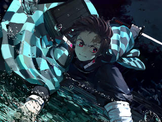 Demon Slayer Tanjirou Kamado wallpaper